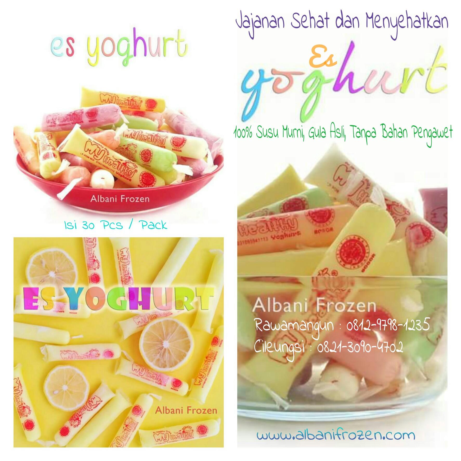 es yoghurt my healthy - Jual Roti Maryam - Harga Roti ...
